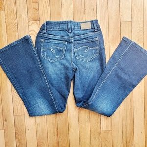 LIMITED TOO girl's jean super hip 12S